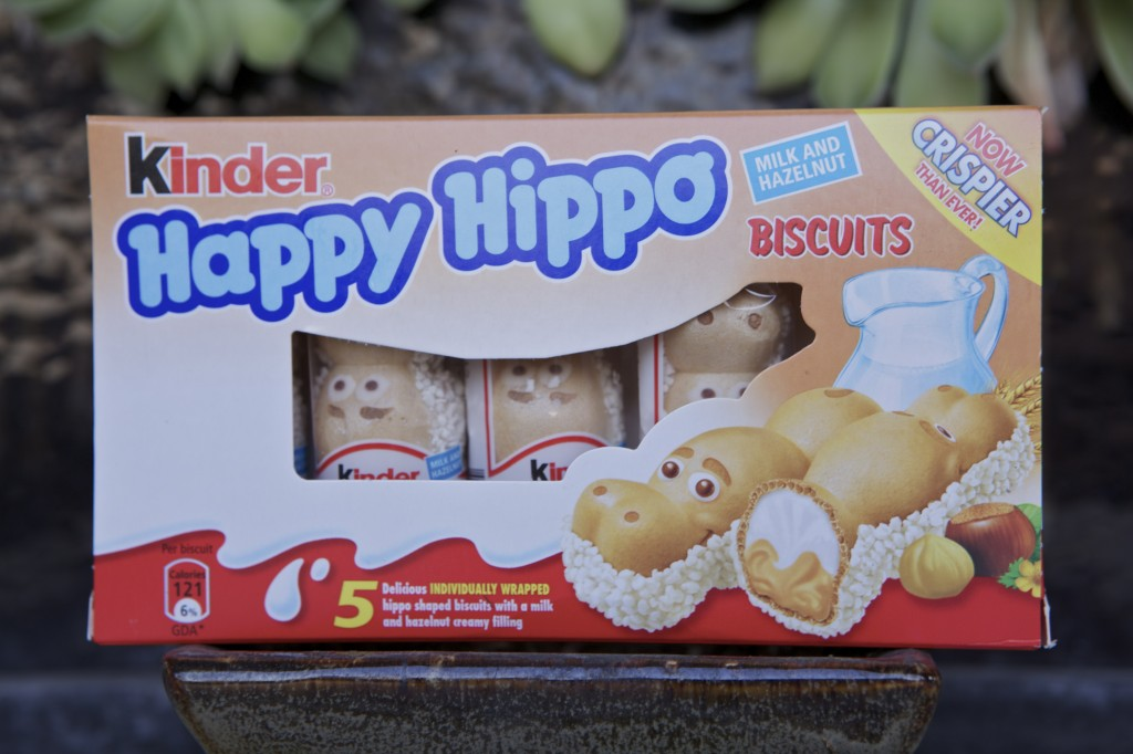 in the snack of time kinder happy hippo. Black Bedroom Furniture Sets. Home Design Ideas