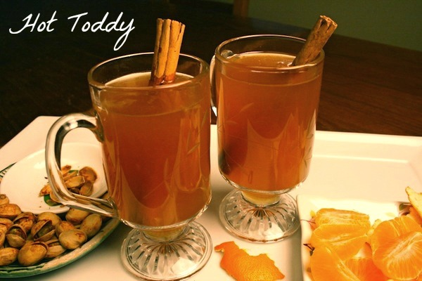 Hot Toddy - The Perfect Nightcap.