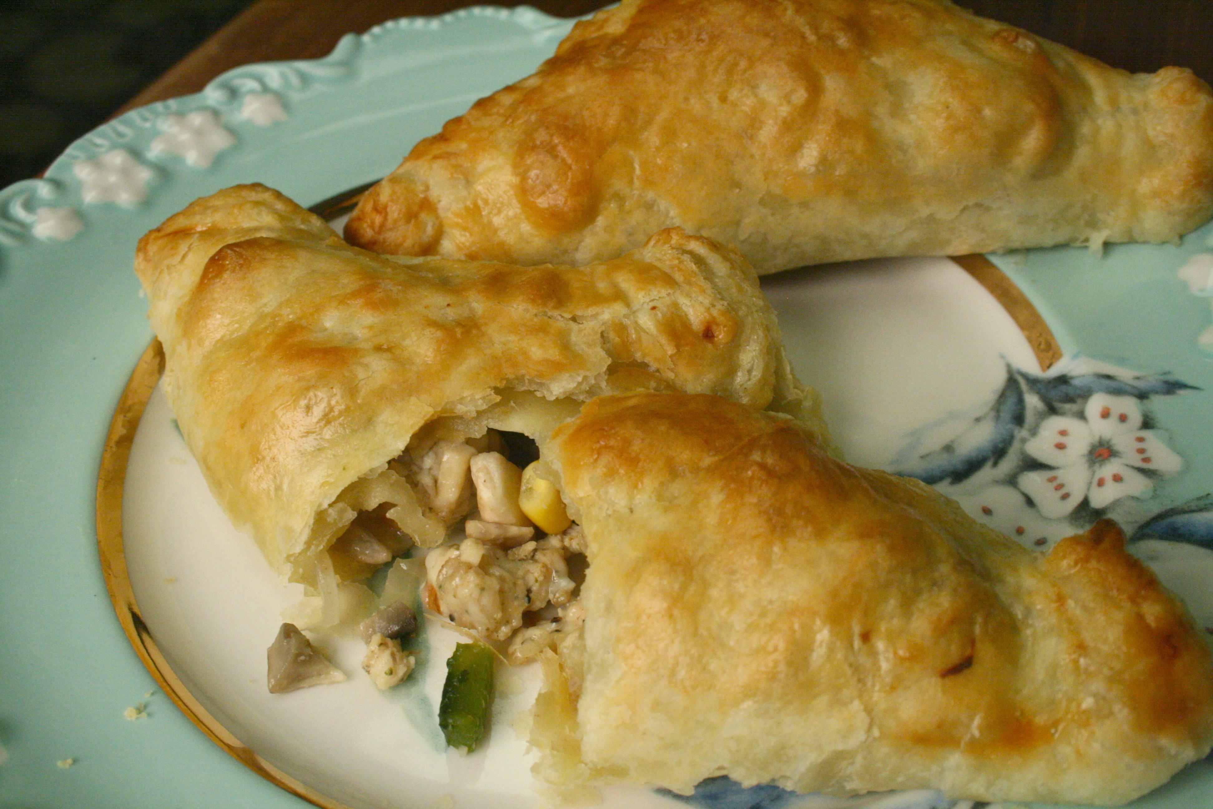 Chicken Pasilla Empanadas! -