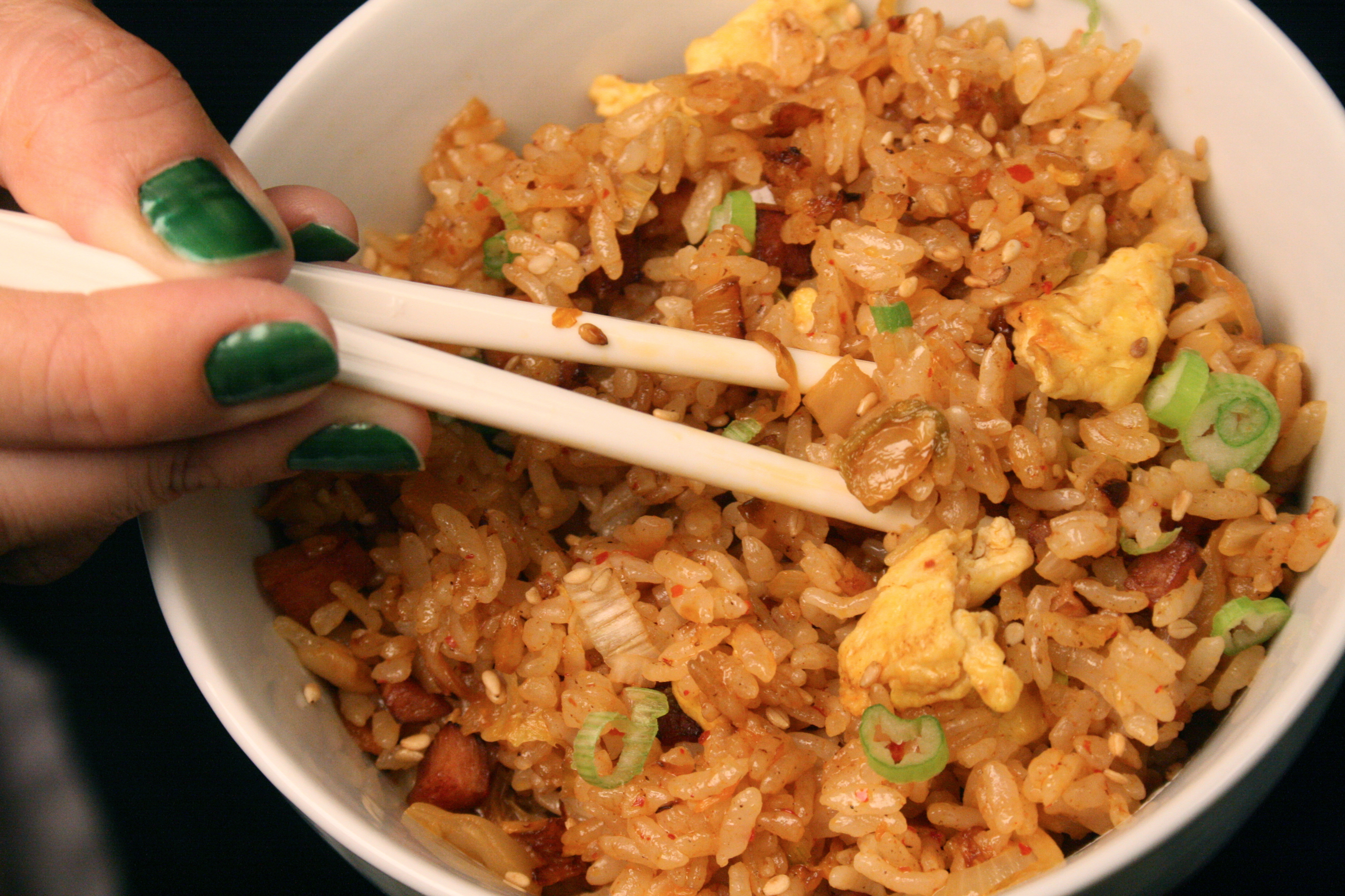 An Ultimate Side Dish: Korean Fried Rice