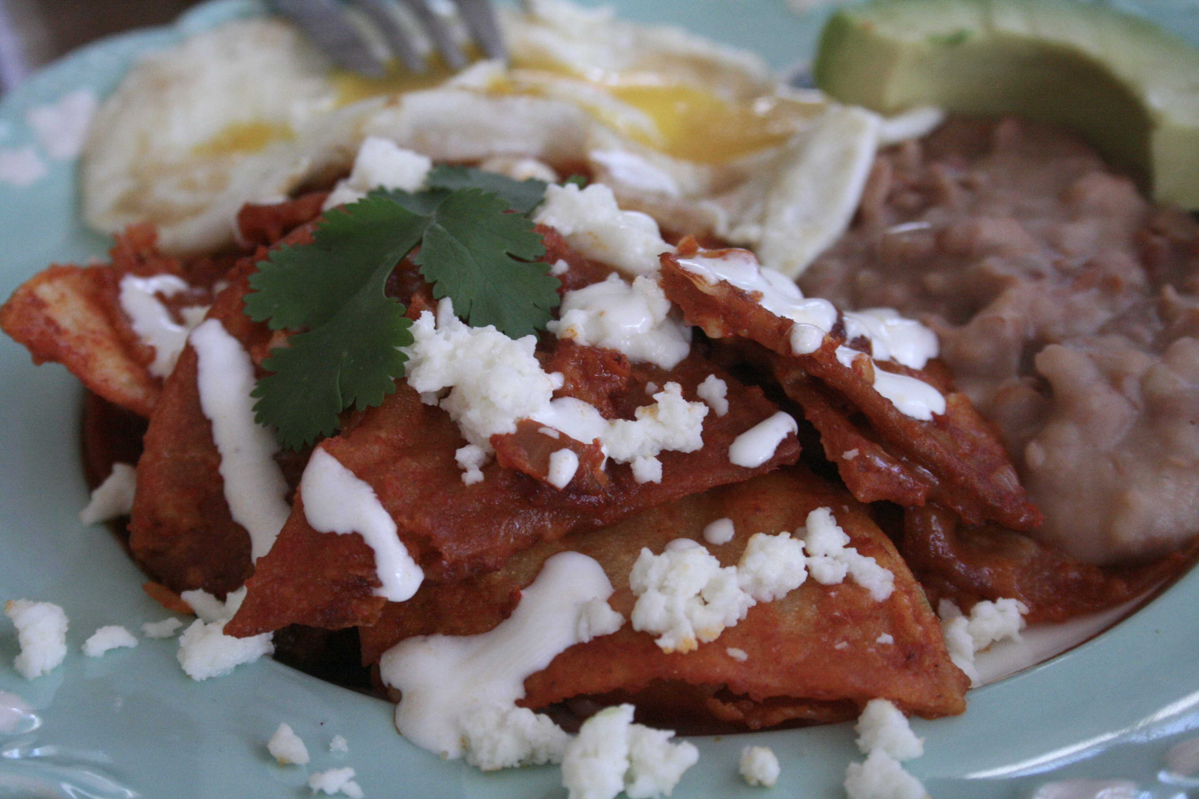 Chilaquiles -
