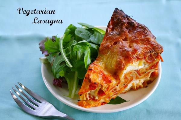 Crock Pot Vegetarian Lasagna #MamaSabeMas -