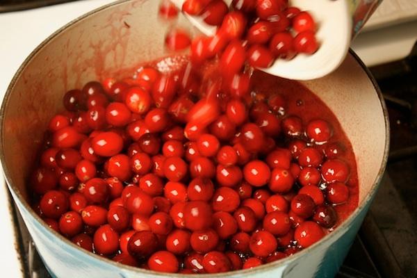 cranberry spill