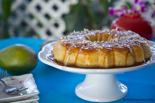 Mango-Toasted-Coconut-Flan