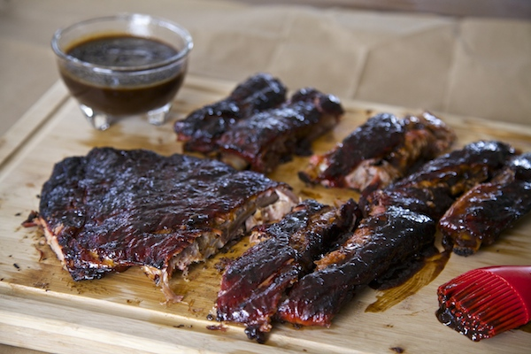 Cherry Chipotle Ribs Using The 2-2-1 Grilling Method #WMTMoms
