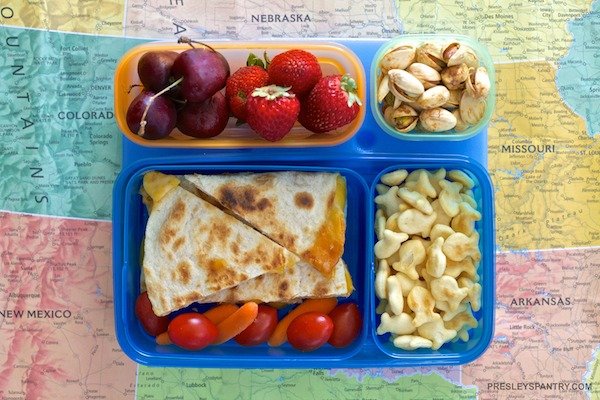 Quesadilla Lunchbox For Back To School