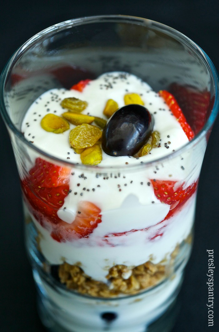 parfait breakfast dream