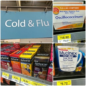 Walmart cold and flu medicines