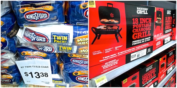 Kingsford charcoal and portable grill #WMTMoms