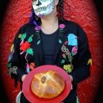 Dia de los muertos calada and pan de muerto