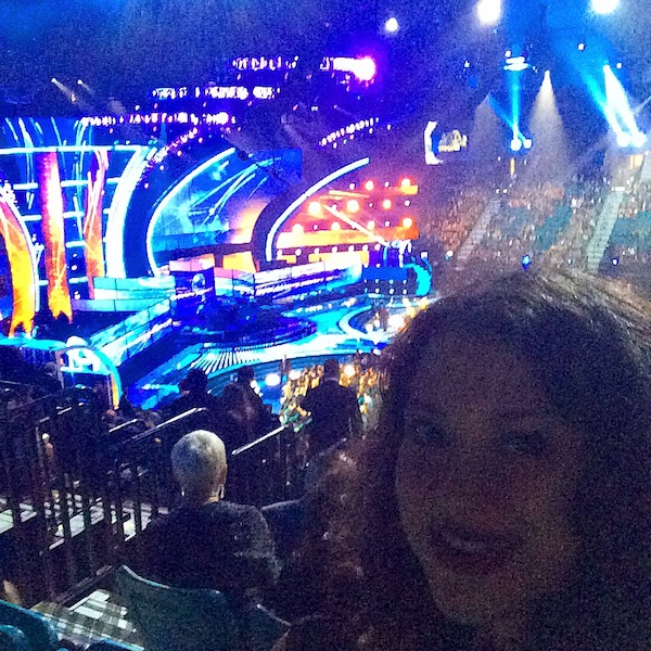 Selfie at the Latin Grammys 2014