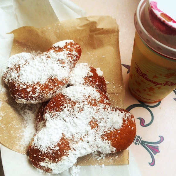 The mickey shaped beignets at Disneyland are super specatular