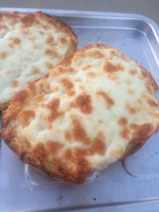 melted cheese toast