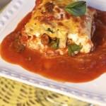 Meatless Lasagna Rolls