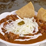 The Game Is On With Spicy Chili Beans