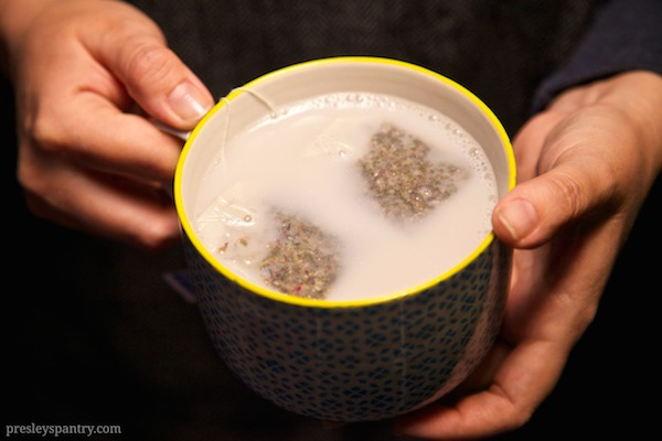 a comforting nug of tea is the perfect way to end the night.