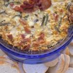 Cheesy Roasted Corn And Pasilla Chile Dip