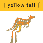 [ yellow tail ] Logo