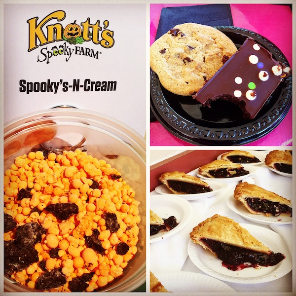 Sweets found at Knott's Spooky Farm during the Halloween season.