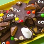 Mickey's Halloween Party, And Peek-A-Boo Halloween Candy Bark