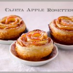 Cajeta Apple Rosettes …. Perfect For Ladies Game Time
