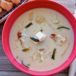 Cream of Cauliflower Soup or Sopa De Coliflor