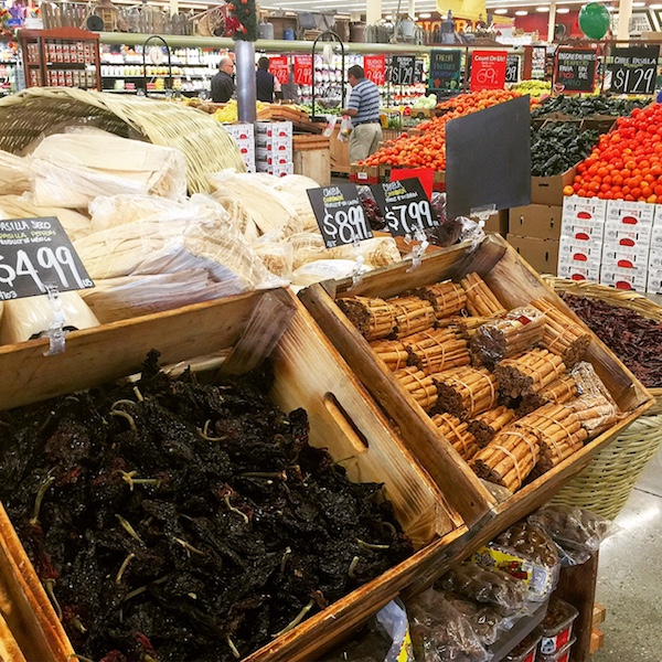 The tamale supply section at Northgate Norwalk is well stocked and ready for the holiday season.