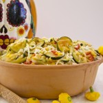 Cheesy Cacique Calabacitas