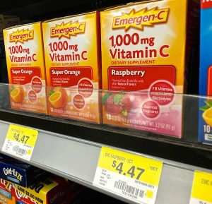 Emergen-C sold at Walmart