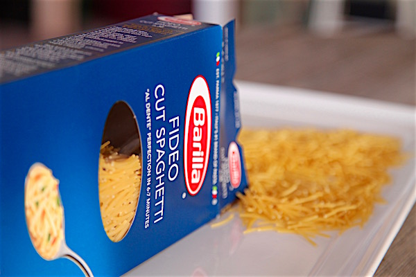 Barilla's cut spaghetti doubles down as fideo