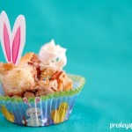 Bunny Banana Caramel Bread Pudding For Easter!