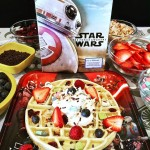 Star Wars The Force Awakens Blu Ray And A Death Star Waffle Bar