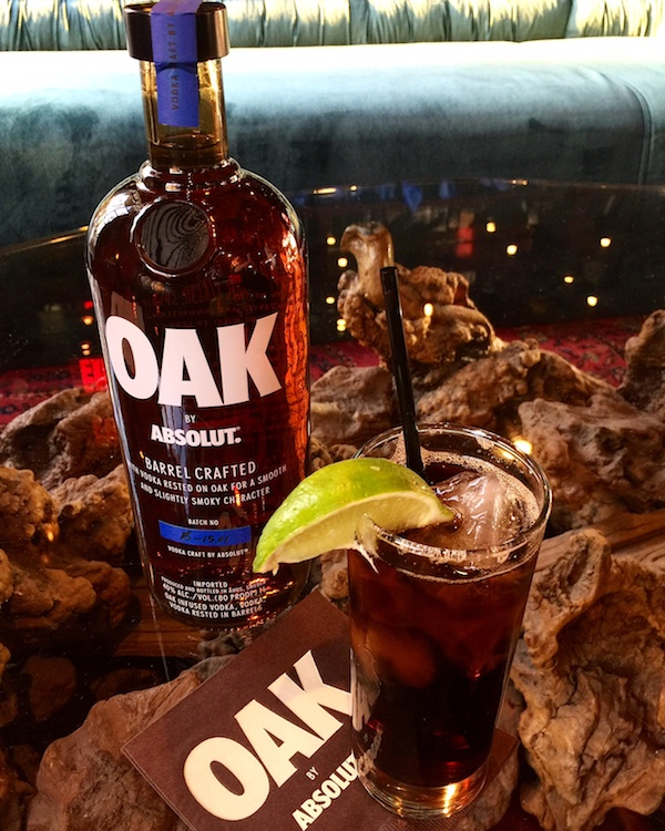 Oak by Absolut is only in select markets. Los Angeles is one of them!