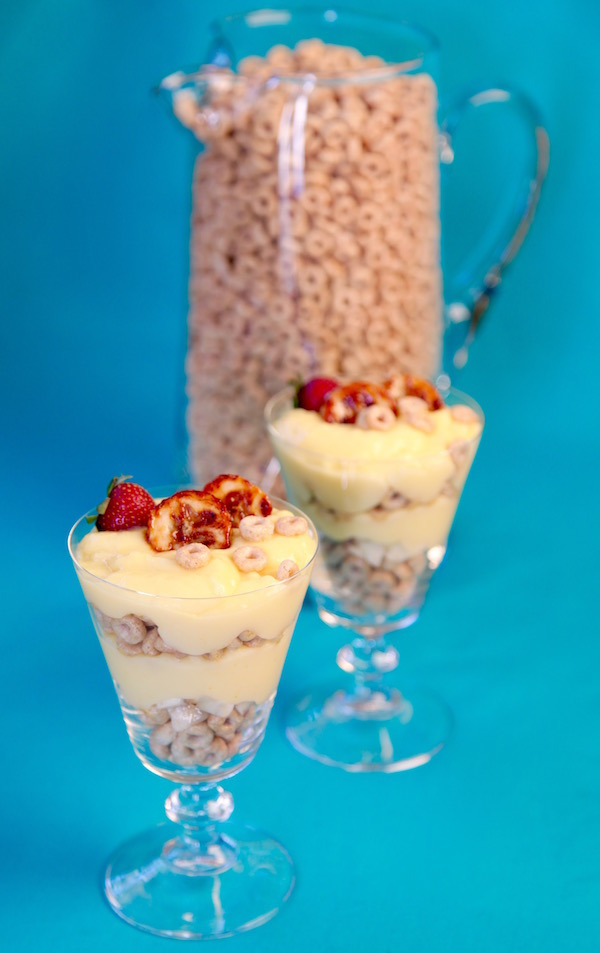 Honey Nut Cheerios Banana Pudding Parfait!!