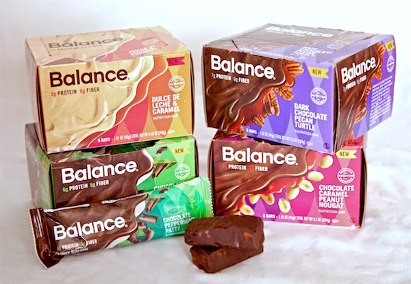 Four new Balance Bar flavors all under 190 calories. Buy them at Walmart.