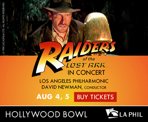 Get your tickets for the Raiders Of The Lost Ark screening at the Hollywood Bowl