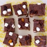 Easy To Make Rocky Road Fudge
