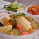 Caldo De Vegetales – Mexican Style Vegetable Soup