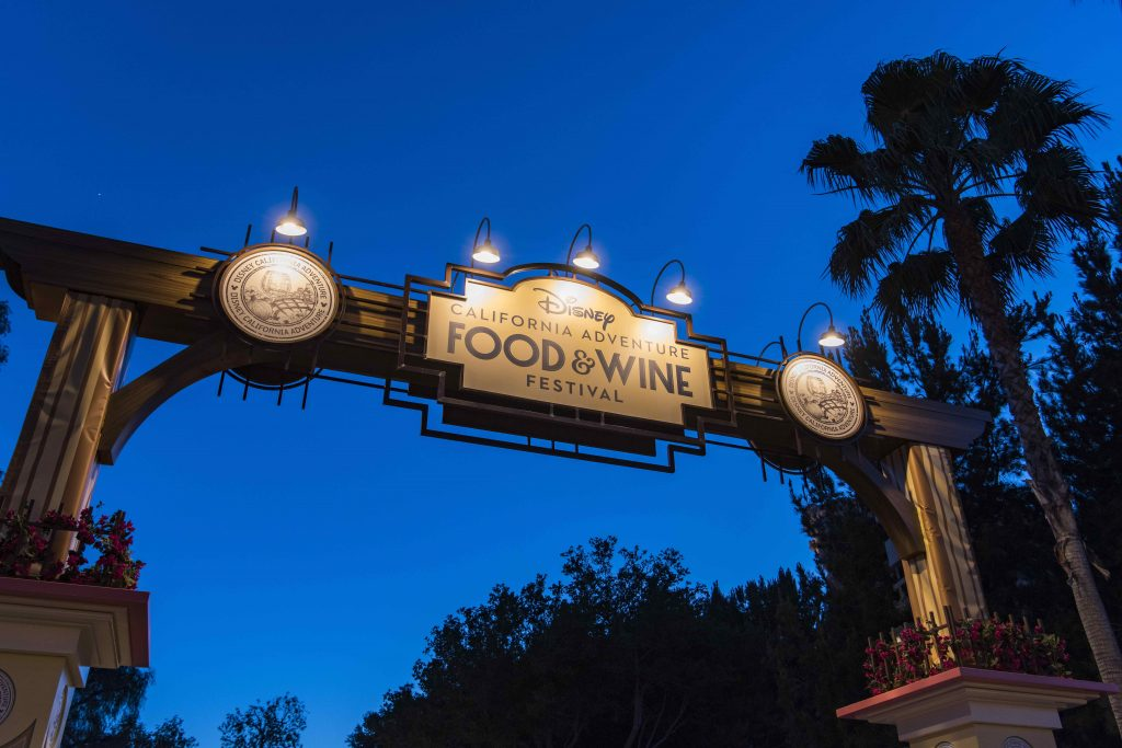 Disney California Adventure Food and Wine festival is going on from March 2nd to April 12th!