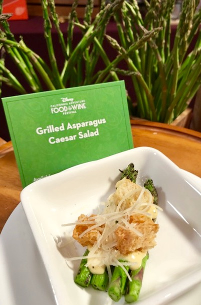 Grilled Asparagus Caesar Salad at Eat Your Greens!
