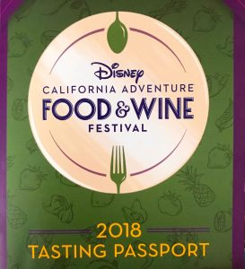 Tasting Passport for DCA Food & Wine 2018