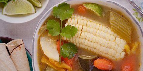 Caldo De Vegetales – Mexican Style Vegetable Soup