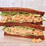 Spicy Chickpea Salad Sandwich