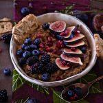Berry Fig Steel Cut Oatmeal