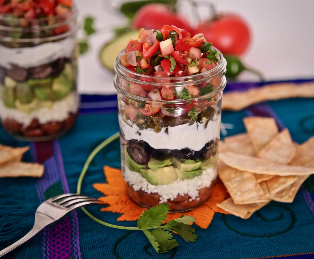 Portable nacho jars make life on the go so easy.