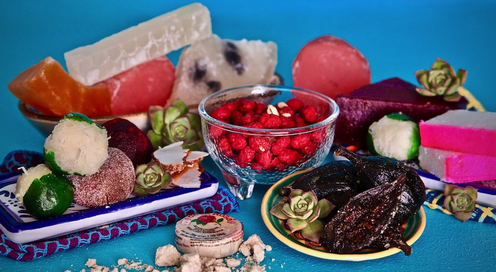 This Mexican Candy Map is a guide to candied fruit. Mexican Candy 101