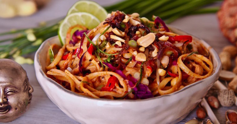 Spicy Peanut Sauce Noodles: Perfect for Vegans