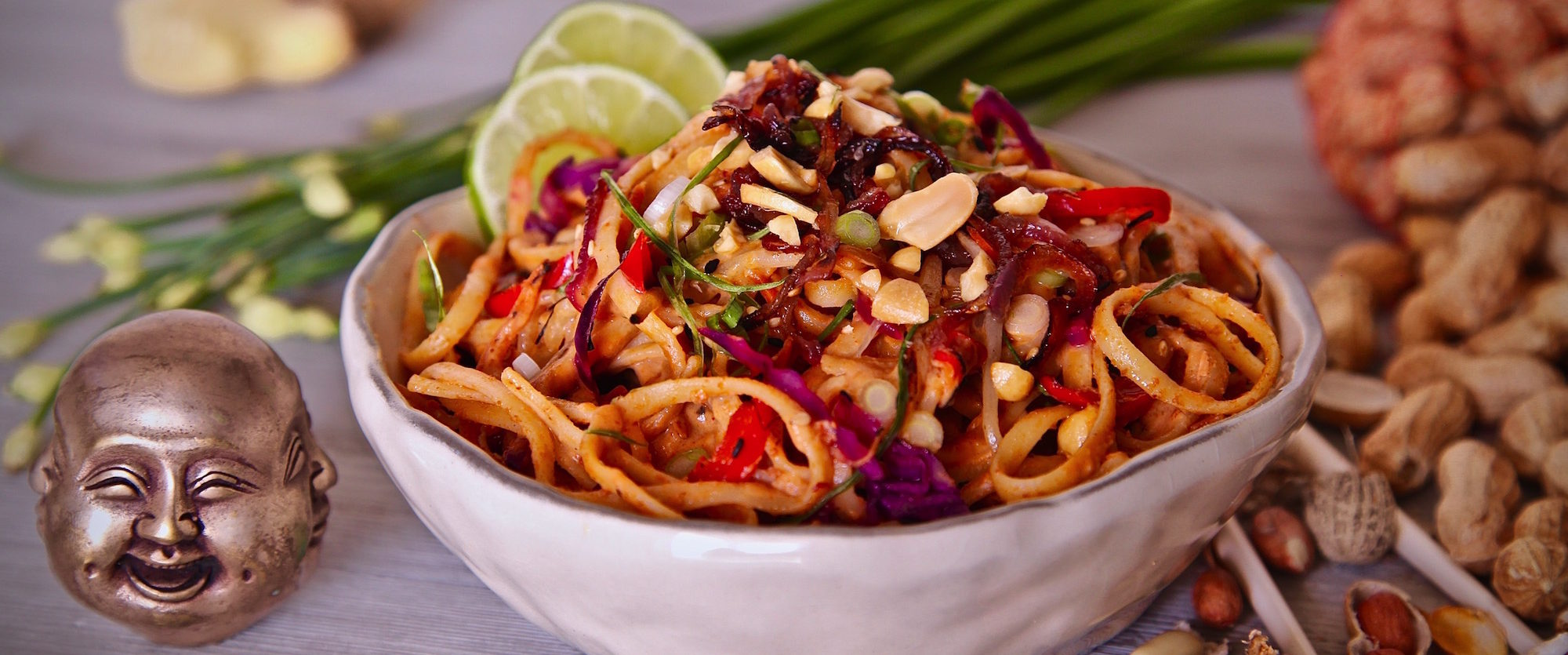 Spicy Peanut Sauce Noodles: Perfect for Vegans