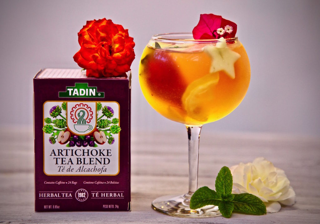 TADIN Artichoke Tea Blend Iced Tea