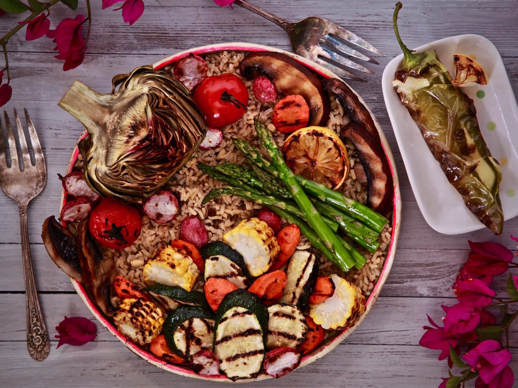 Vegetarian BBQ Bowl is perfect for everyone at your next gathering.